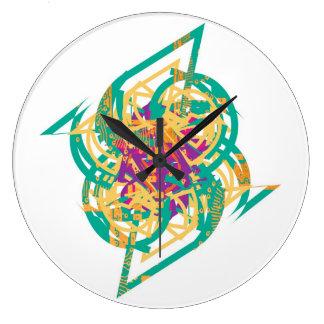 Dynamic Chaos Large Clock