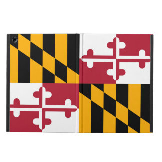 Dynamic Maryland State Flag Cover For iPad Air