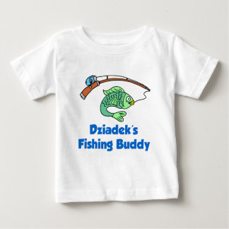 Dziadek's Fishing Buddy Baby T-Shirt