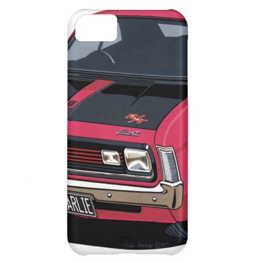 E38 Valiant Charger - Charlie Cover For iPhone 5C