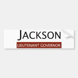 E.W. Jackson Lieutenant Governor Bumper Sticker