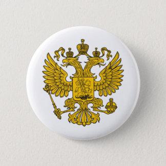 eagle crest 6 cm round badge