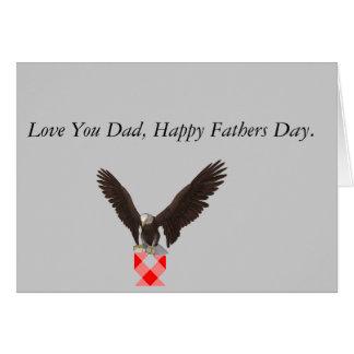 Eagle Fathers Day Card