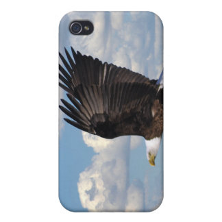 Eagle in the Sky iPhone 4 Cases