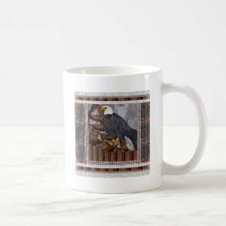 EAGLE King of Bird of Prey North American Habitat Coffee Mugs