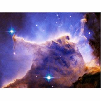 Eagle Nebula Pillar Detail Hubble Cut Outs