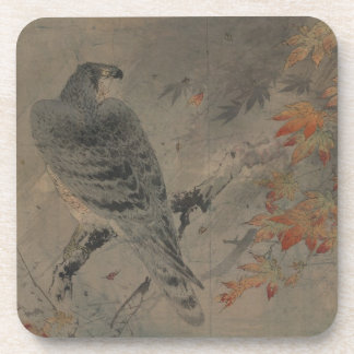Eagle on a Maple Branch Coaster