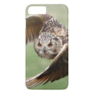 Eagle Owl In Flight iPhone 7 Plus Case