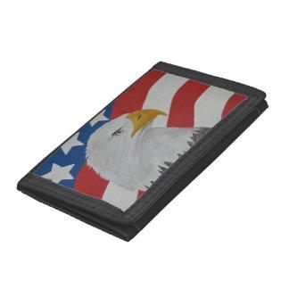 Eagle Tri-fold Wallets