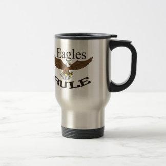 Eagles Rule Stainless Steel Travel Mug