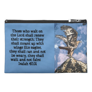 Eagles Wings - Isaiah 40:31 Travel Accessory Bag