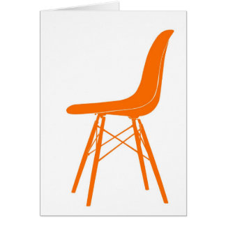 Eames molded plastic side chair note card