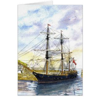 'Earl of Pembroke Returns' Card