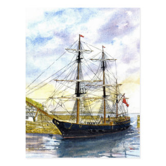 Earl of Pembroke Returns Postcard