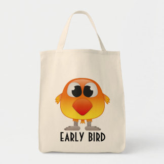 Early bird gets the best deals - orange and yellow