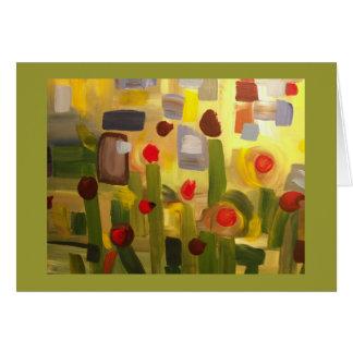 Early Garden Card