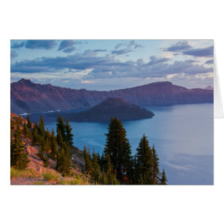 Early Morning, Crater Lake Card