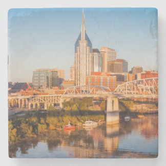 Early Morning Over Nashville, Tennessee, USA Stone Coaster
