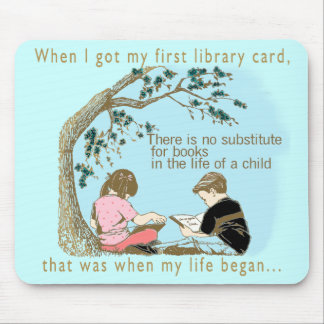 Early Reading Encouragement Mouse Pad