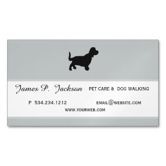 Earned Adulation Coolest Pet Professional Design Magnetic Business Card