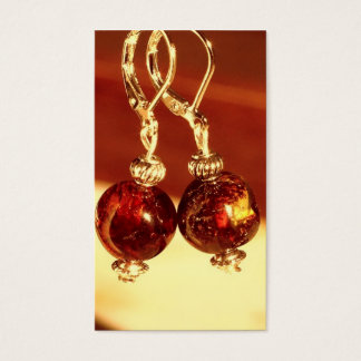Earrings Vintage | Business Card