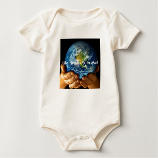 earth[1], Life Begins With Me! Baby Bodysuit