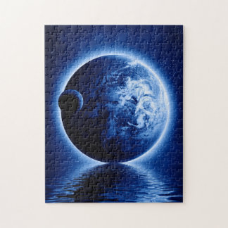 Earth and Moon Fantasy Puzzle