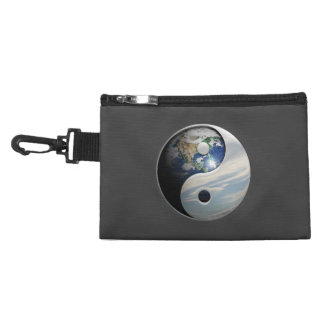 Earth and Sky Yin Yang Accessories Bag