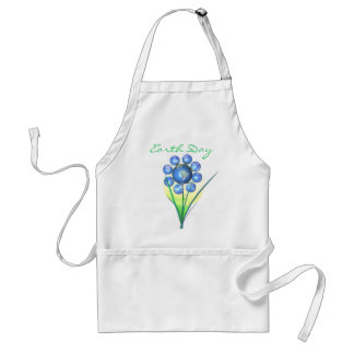 Earth Day Flower Standard Apron