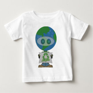 Earth Day Recycle Guy Baby T-Shirt