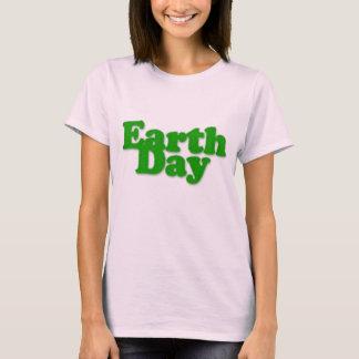 Earth Day Women Pink T-Shirt
