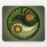 Earth Day Yin Yang Mousepad