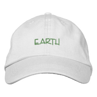 EARTH hat Embroidered Baseball Cap