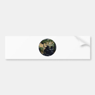 Earth India The MUSEUM Zazzle Gifts Bumper Sticker