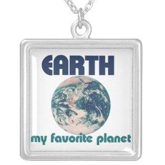 Earth is my favorite planet custom jewelry