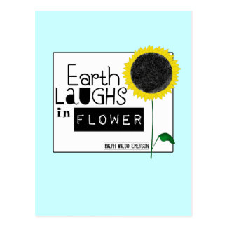 Earth Laughs in Flower Postcard