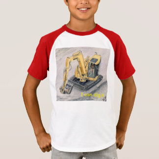 Earth Mover Kids Shirt Construction Vehicles