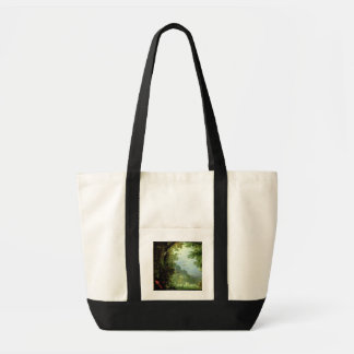 Earth or The Earthly Paradise, detail of Adam and Tote Bag