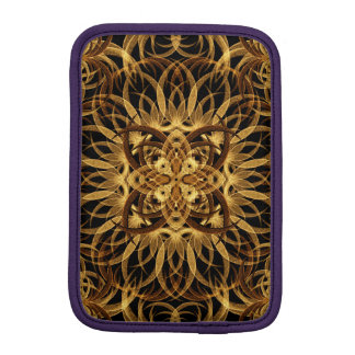 Earth Star Mandala iPad Mini Sleeve