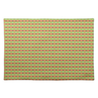 Earth Tone Colored Squares Placemat