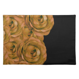 Earth Tone Roses Placemat