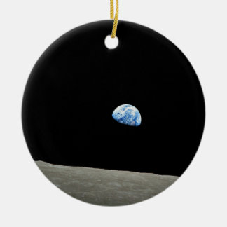 EARTHRISE! (solar system) ~ Christmas Tree Ornament