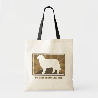 Earthy Bernese Mountain Dog Gifts Tote Bag
