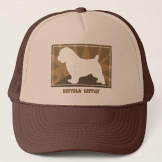Earthy Norfolk Terrier Trucker Hat