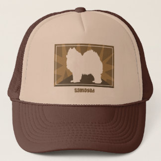 Earthy Samoyed Trucker Hat