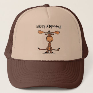 "Easily A'Moose""d Trucker Hat"