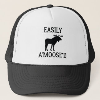 Easily Amoosed Trucker Hat