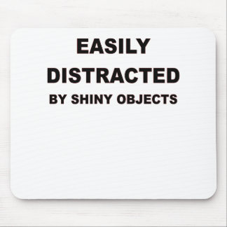 EASILY DISTRACTED.png Mouse Pad