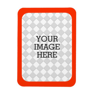 Easily Make Your Own Photo Display in Orange Magnet