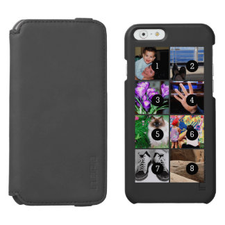 Easily Make Your Own Photo Display with 8 photos Incipio Watson™ iPhone 6 Wallet Case